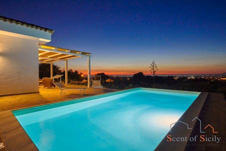 Piscine in ville private a Trapani e Marsala Sicilia  Wellness Spa Italy